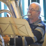 Castleton Brass Band in rehearsals.